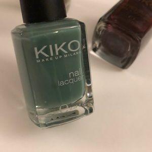 Kiko Makeup - KIKO Milano nail lacquer - set of 4